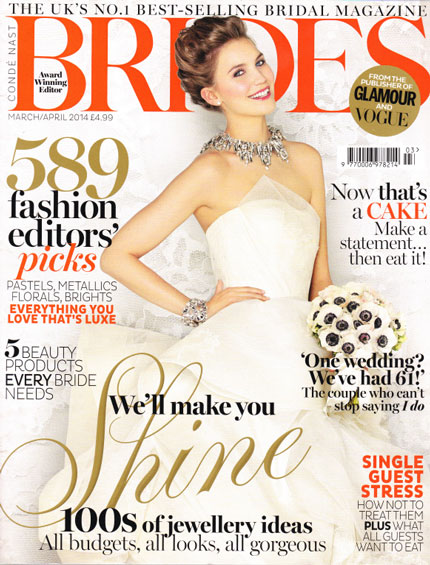 Brides Magazine – April 2014