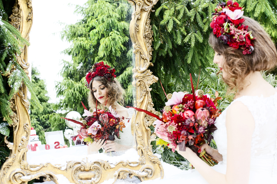 Snow White Themed Wedding Shoot